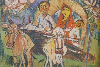 Quamrul Hassan Bangladesh Fine Arts Quamrul Hassan